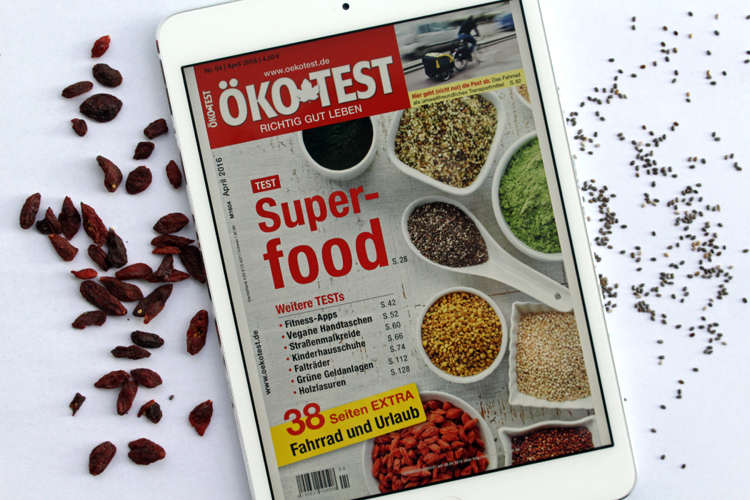 Öko-Test Superfoods