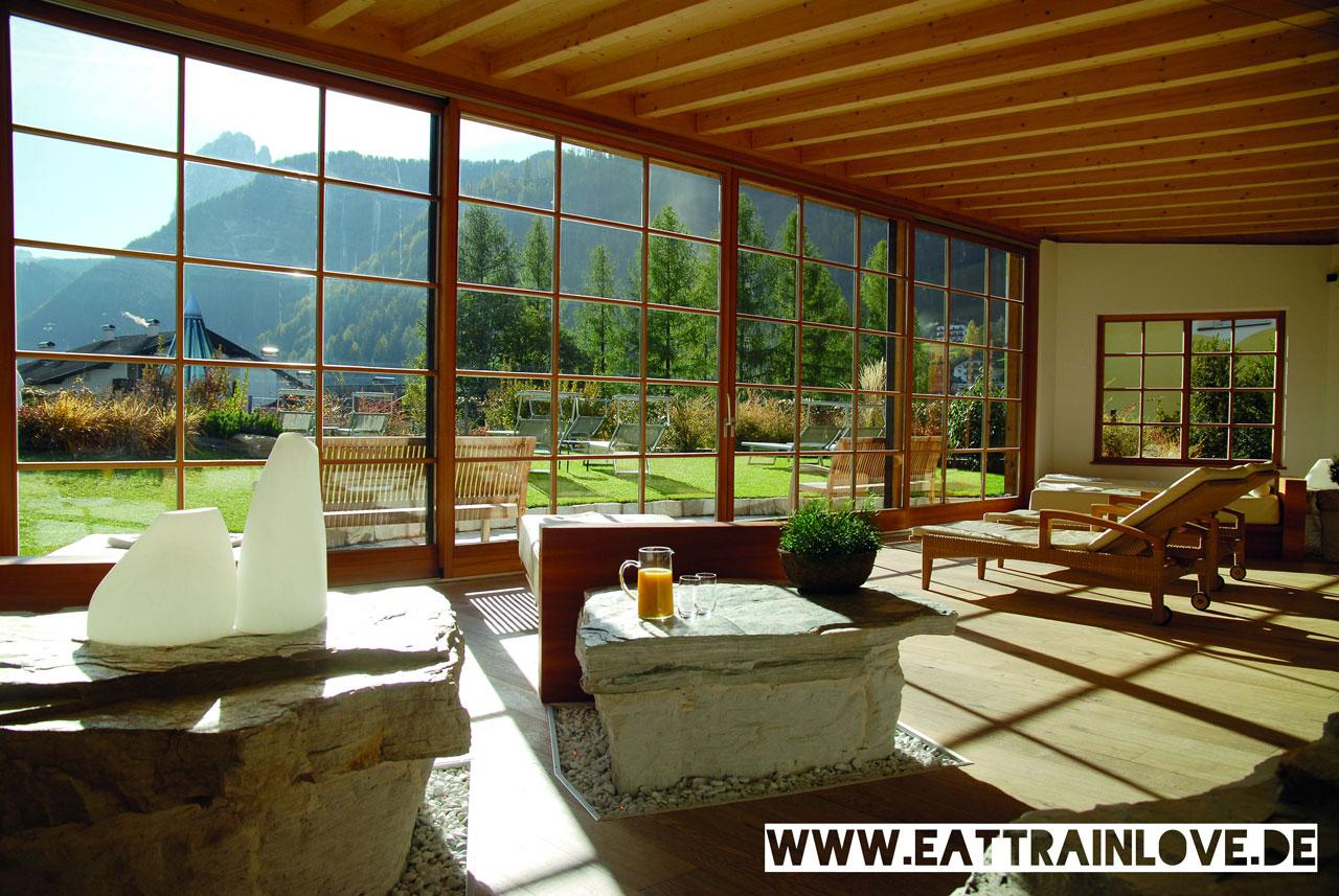 Adler-Dolomiti-Wellnessbereich
