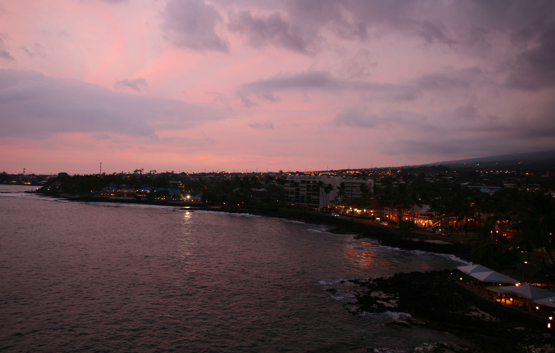 Big-Island-Kona-am-Abend