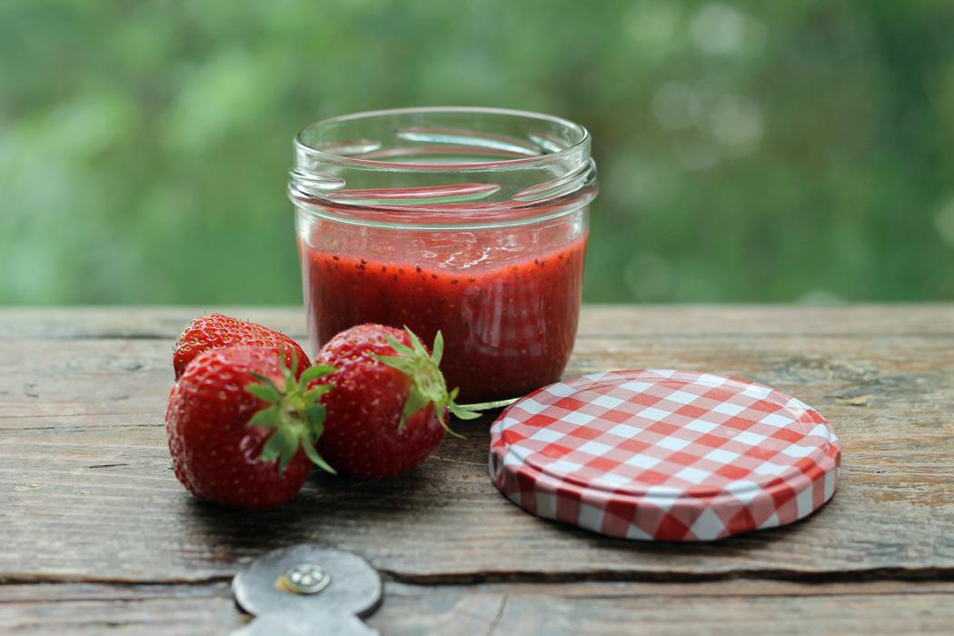 Chia Erdbeer Marmelade1