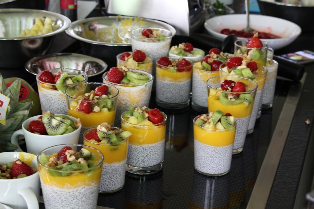 Chia-Pudding mit Mangosauce1