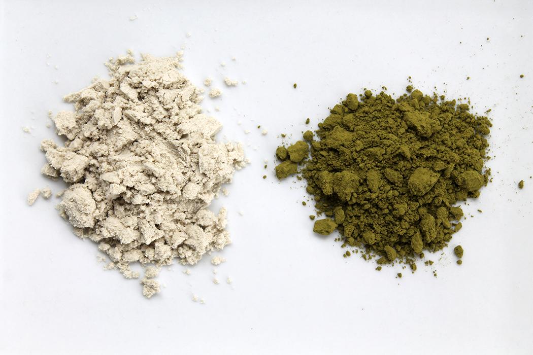 Grüner Kaffee und Matcha im Vergleich