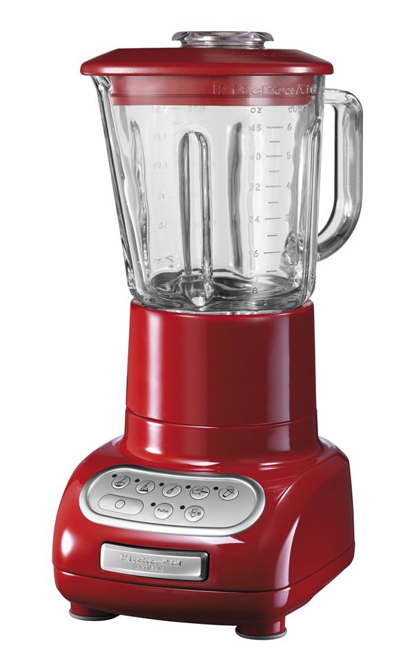 KitchenAid Artisan Blender Empire Rot seitlich