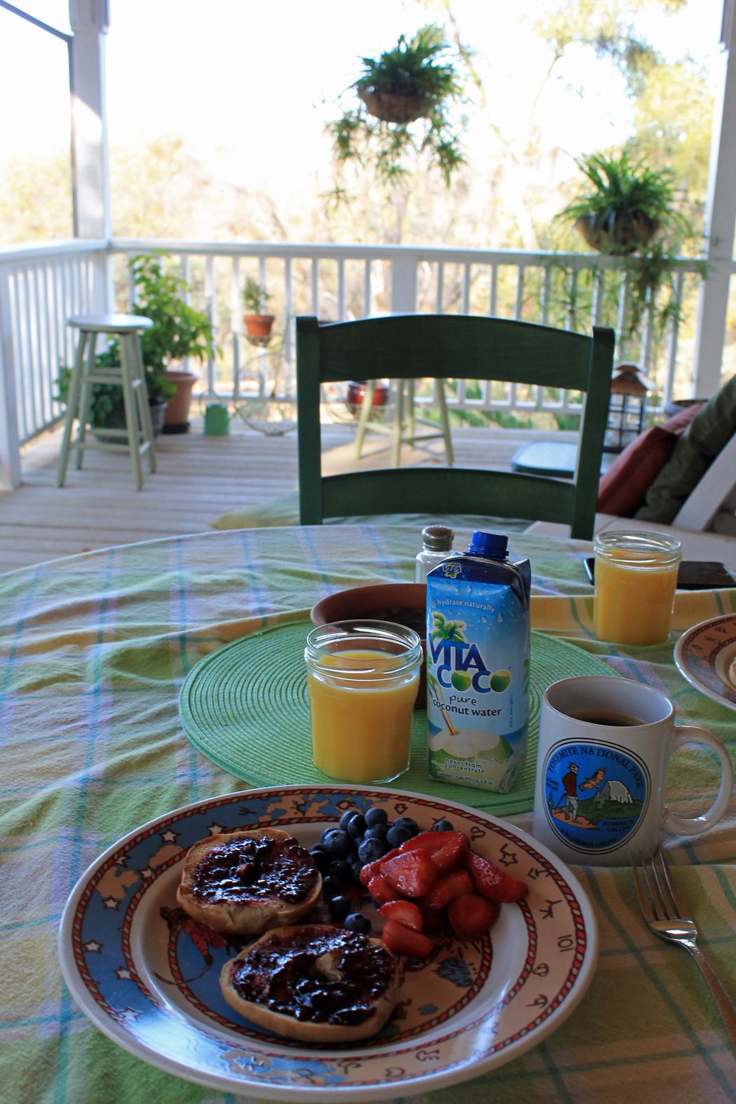 Mariposa Frühstück