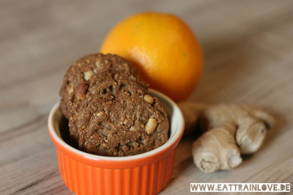 Orange-Ingwer-Cookies
