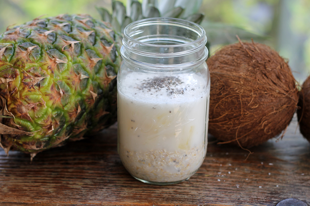 Overnight Oats Kokos-Ananas 1