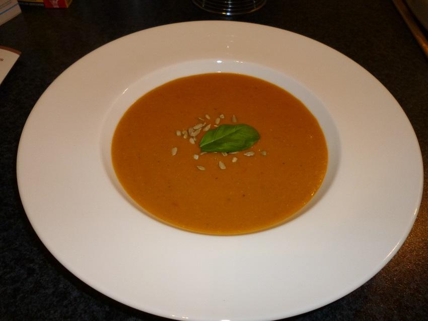Kokos-Linsen-Suppe