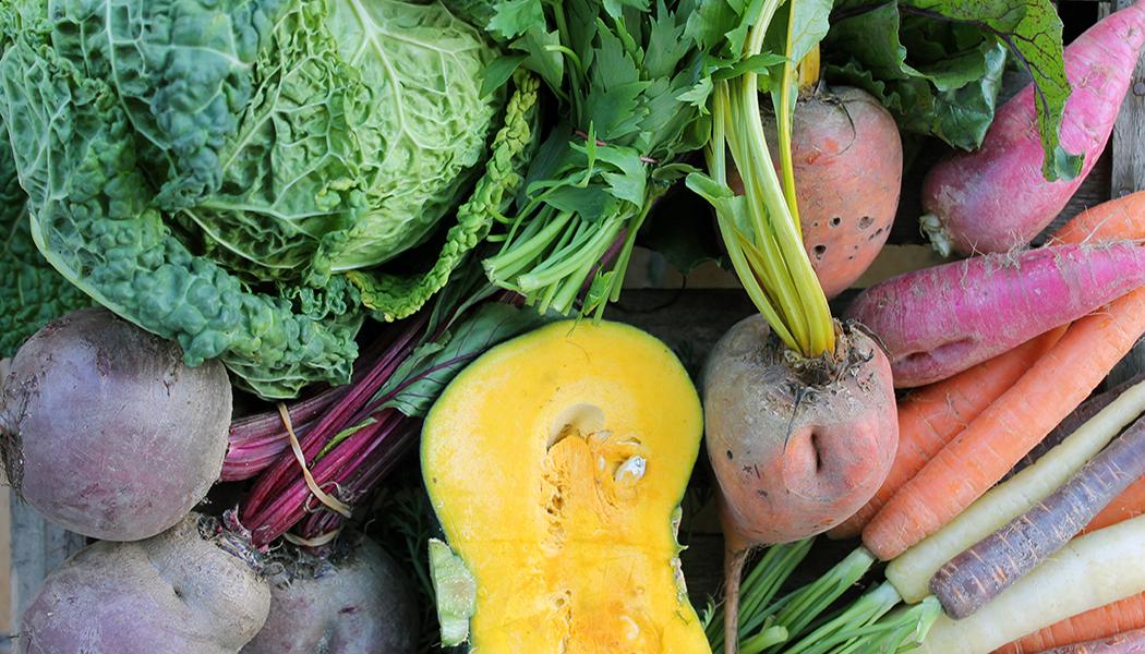 Slideshow gesund ernähren Gemüse