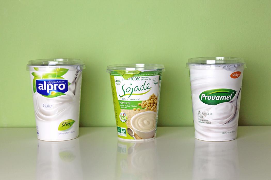 Sojajoghurts im Vergleich