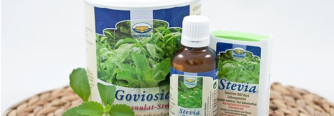 Stevia im Bild
