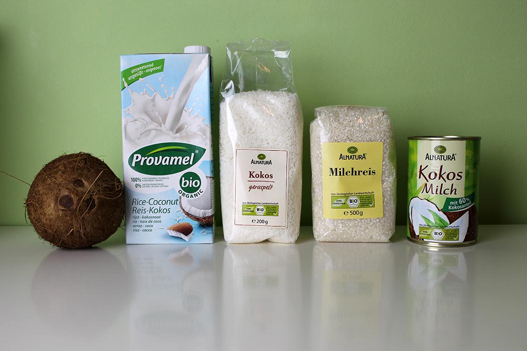 Vanille-Kokos-Milchreis mit Himbeersauce 1