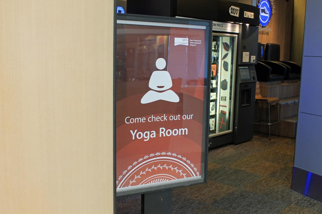 Yoga Romm SFO Airport3
