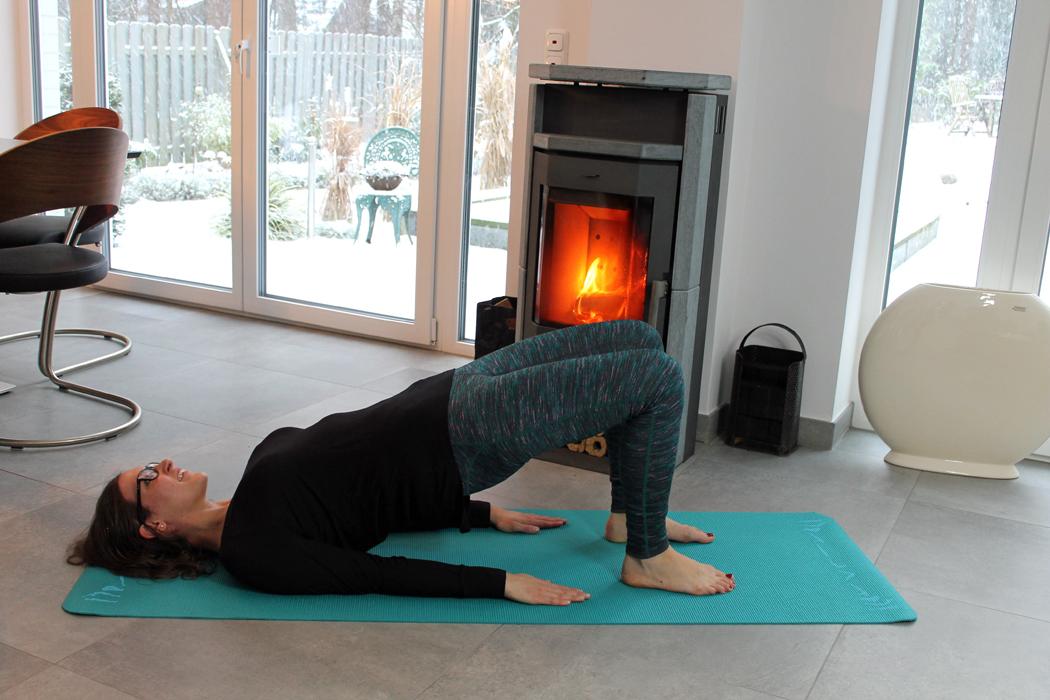 Yoga Schulterbrücke