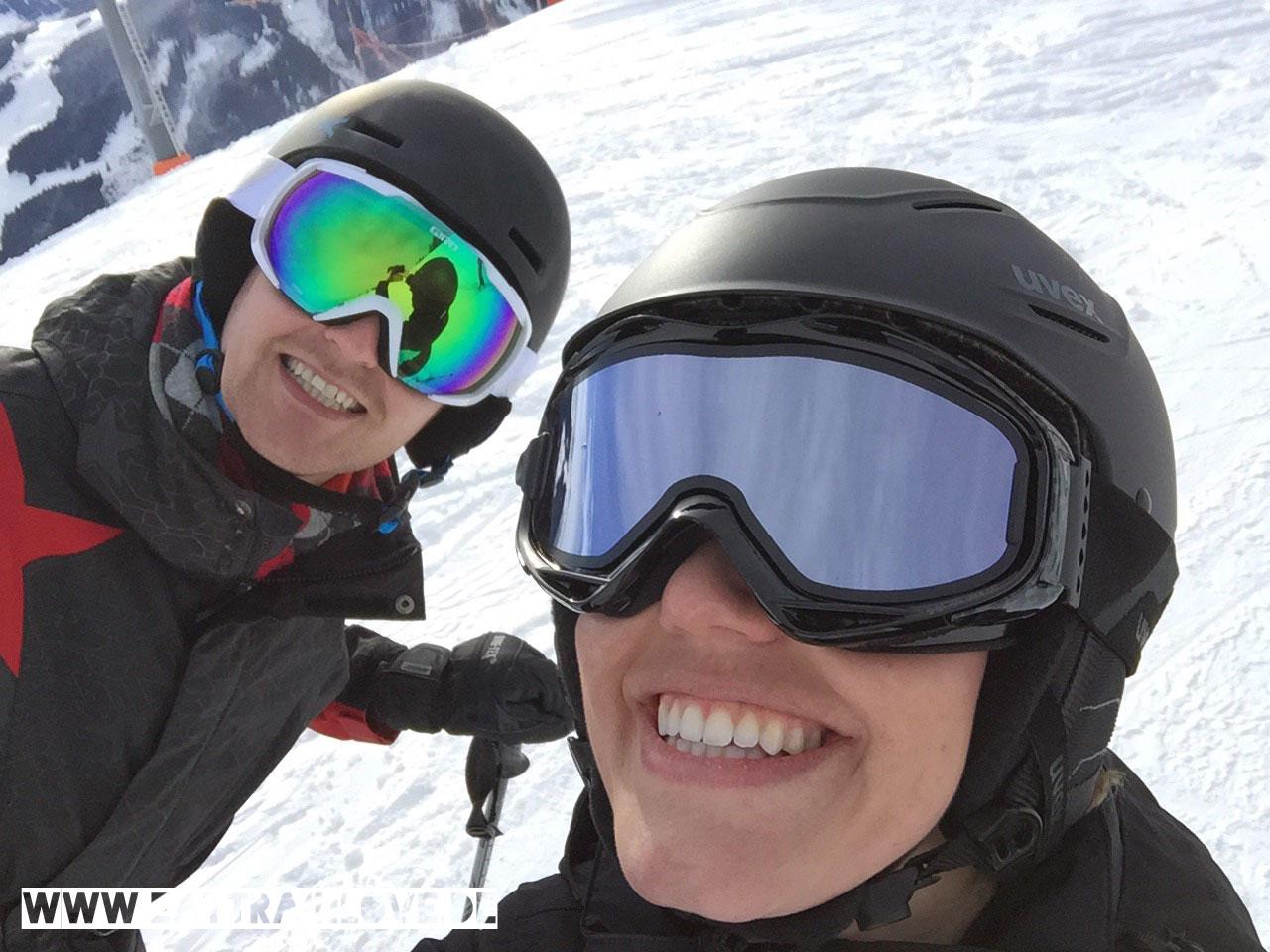 Zwei-Skibrillen