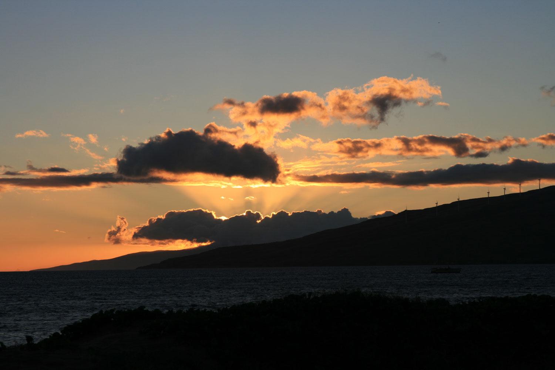 Maui-Sonnenuntergang